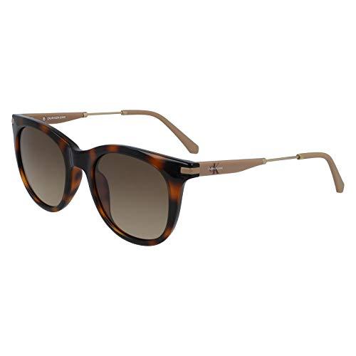 CALVIN KLEIN JEANS EYEWEAR Womens CKJ19701S Sunglasses, Brown, 5020