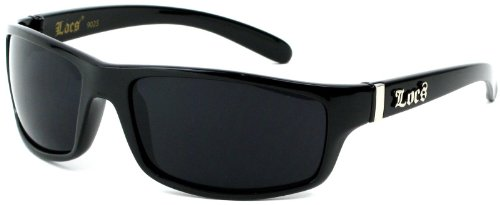 LOCS Black Harcore Fly Sunglasses JE5209B
