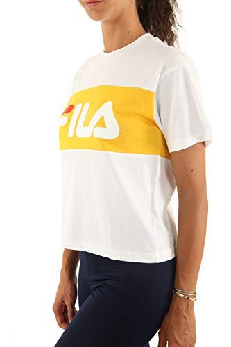 Fila Allison, Weiss (Logo Gelb), M