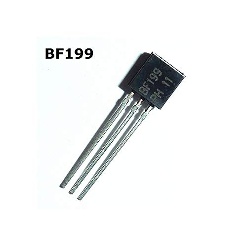 10pcs BF199 TO-92 NPN-Transistor Mittelfrequenz