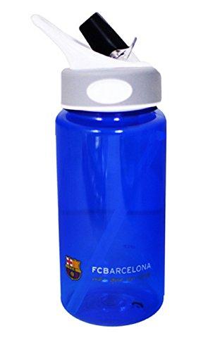 Alusport Bottles FCB Botella Deportiva Tritán, Hombre, Azul, 0.6 l