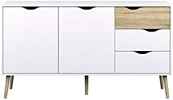 Delta Sideboard 2 Doors with 3 Drawers By TVilum