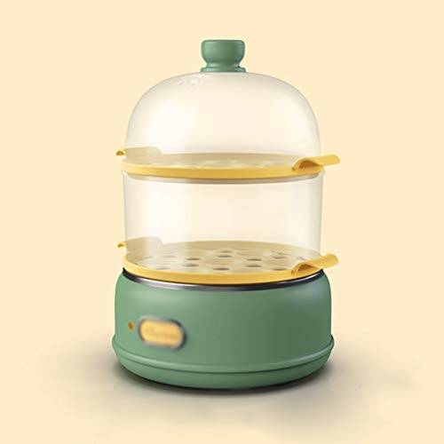 YWSZJ De Doble Capa Multifuncional Huevo Vapor for Uso doméstico, máquina automática Egg Pequeño, pequeño Vapor