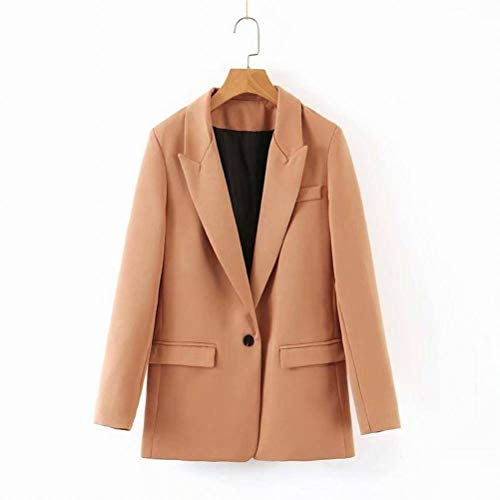 W-C Fashion One Button Blazer, fotokleur, L
