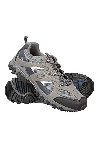 Mountain Warehouse Zapatillas Jungle para Hombre - Zapatillas de Correr Ligeras, Transpirables, Suaves, cómodas, Zapatillas Flexibles para el Gimnasio Azul Oscuro 44
