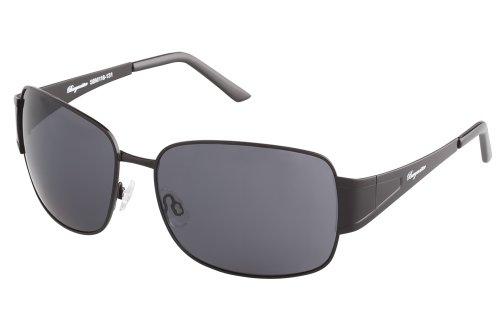 Burgmeister Herren SBM118-131 Rechteckig Sonnenbrille, Black
