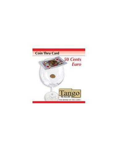 Coin Thru Card (50 cent Euro w/DVD) (E0014) Tango