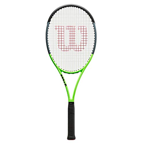 Racchette Da Tennis Professionale con Foro Indipendente Nuova Tennis per Adulti Materiale Interamente in Carbonio, Misura Universale (Color : Photo Color, Size : 27inches)
