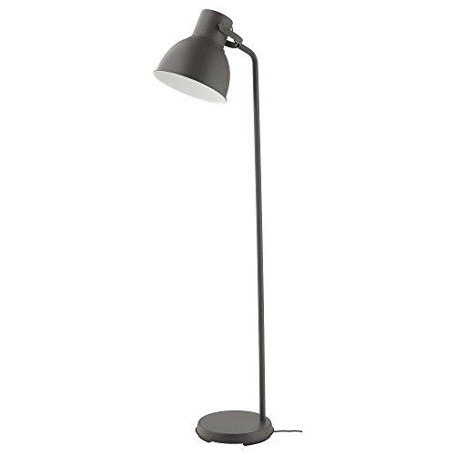 gris Lampe lampadaire liseuse 1m85