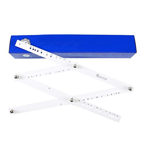SUPVOX - Pantografo, strumento artistico da disegno, per ridurre, ingrandire e ricopiare, righello con scala fino a 10 volte