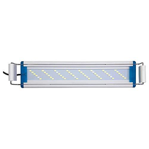 Venus Aqua Adjustable Aquarium Led Lamp Blue and White Light (LED-QL40S Size 40-50CM)