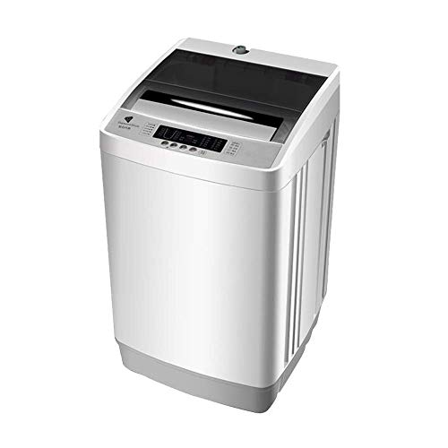ZYK Full-Automatic Washing Machine Compact 18lbs Laundry Washer Spin with Drain Pump 13 Programs Selections w/LED Display (520520875MM)