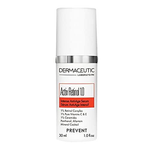 Activ Retinol 1.0 de Dermaceutic - Sérum anti-âge contenant du Complexe de Rétinol, des Céramides, des Esters de Vitamines C & E, du Panthénol et de l