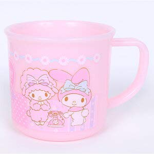 Marushin Sanrio My Melody 617806 61780-6 - Taza de plástico (rosa)