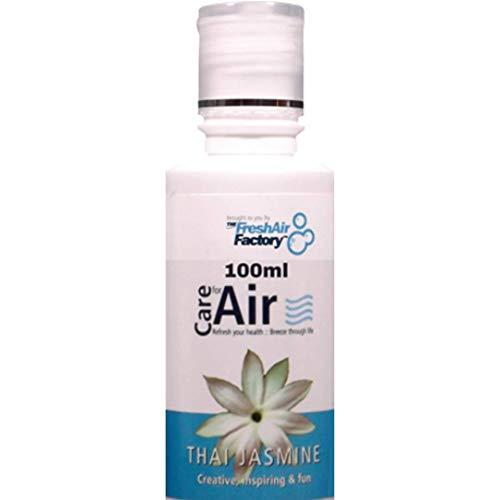Essenza 100 ml per depuratori aria - Antibatterico, antimicrobico, antisettico - Ideale per raffreddore, tosse, asma e patologie respiratorie - USARE IN RIVITALIZZATORI, IONIZZATORI, UMIDIFICATORI 100 ml Thai Jasmine Essence