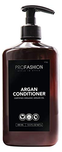 Profashion- Deep Conditioner Argan Oil and Keratin Treatment, After Shampoo, Gentle on Curly Hair or Color Treated Hair, Best Conditioner