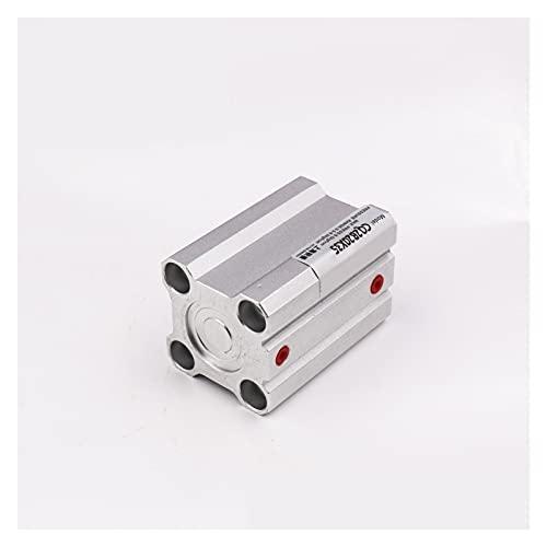 Cilindro de aire Cilindro de aleación de aluminio CQ2B100-25/50/75/100 Componentes neumáticos del cilindro delgado Cámara de pistón atornillado doble acción (Size : CQ2B100-40)