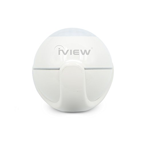 iView S200 WiFi (2.4G only) Smart Motion Sensor Indoor Outdoor Home Security Adjustable Sensibility DIY Easy Installation Long Lasting Battery