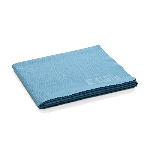 E-Cloth Glas-Trocken- & Poliertuch, Mikrofaser, Blau, 10er Pack