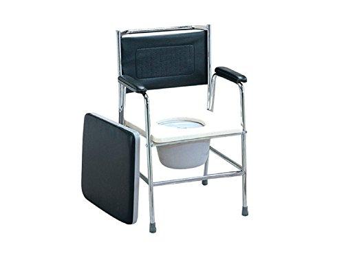 Comfortabele stoel in roestvrij staal