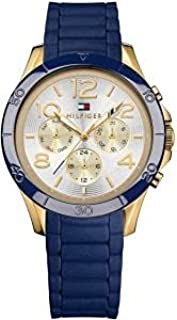 Tommy Hilfiger Alex For Women White Dial Silicone Band Watch - 1781523