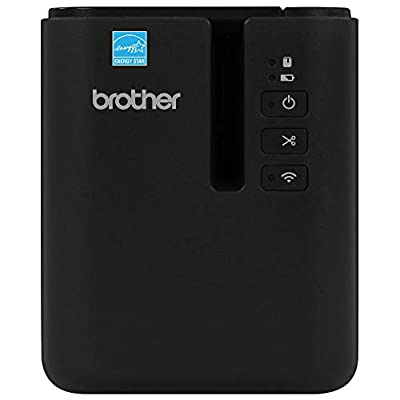 Brother P-Touch PT-P950NW Industrial Network Laminate Label Printer, Up to 36 mm Labels, Standard USB 2.0 and Serial, Ethernet, Built-in Wi-Fi, Optional Bluetooth