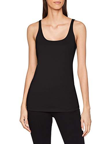 OPUS Damen Daily A T-Shirt, Schwarz (Black 900), (Herstellergröße: 38)