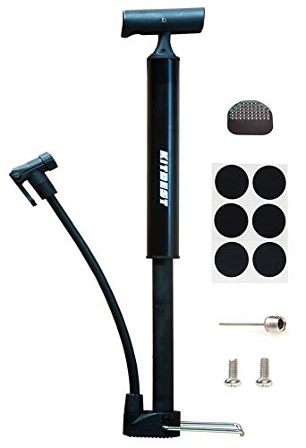 Kitbest Bike Pump, Aluminum