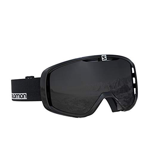 Salomon, Aksium, Unisex-Skibrille, Schwarz-Weiß/Solar Black, L40515800