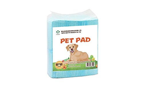 Glad Pet & Puppy Training Pads 50-Count, 23.5 by 23.5-Inch