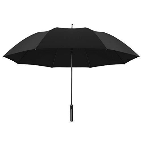 FZYE Paraguas Paraguas de Palo, Paraguas Grande Paraguas de Mango Largo Paraguas Grande de Doble Mango Recto Paraguas de Mango Largo Paraguas a Prueba de Viento Paraguas para Hombres Mu