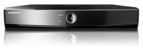 Humax iCord Cable Digitaler HDTV Kabel-Receiver (1x CI-Plus-Schacht, Twin-Tuner, HDMI, 1x Scart-Anschlüsse, Upscaler 1080i, DLNA, 500GB HDD) schwarz