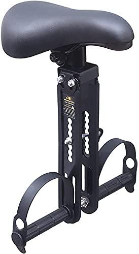 MAYIMY Mountainbike Fahrradsitz mit Sicherheitsgurtreflektor, Abnehmbarer vorderer Fahrradkindersitz Child