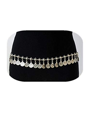 COLORFUL BLING Vintage Coin Belly Waist Chain Fashion Belt Gypsy Bohemian Dancing Tassel Body Jewelry-B