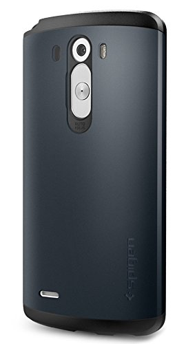 Spigen Slim Armor LG G3 Case with Air Cushion Technology and Hybrid Drop Protection for - Gunmetal