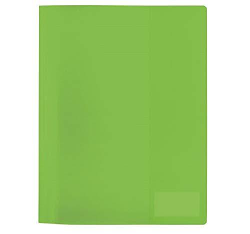 Herma FolderSys 19494 - Carpeta (3 unidades, A4), color verde claro translúcido