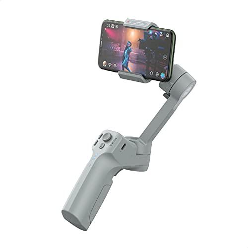 MOZA Mini MX Gimbal - Estabilizador para smartphone de 3 ejes, grabación de vídeo en tiempo real, control nativo del teléfono