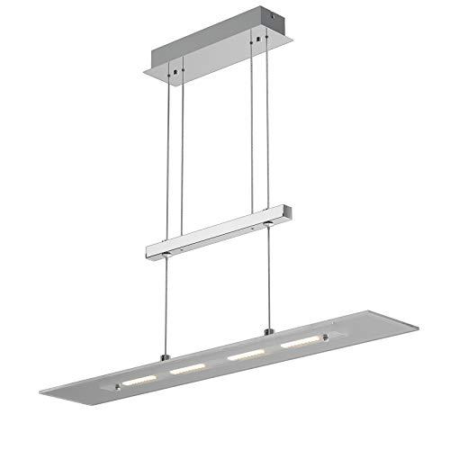 Monzana LED Pendelleuchte warmweiß stufenlos 20W 1600lm Deckenlampe Hängeleuchte Esstischleuchte Deckenleuchte Küche