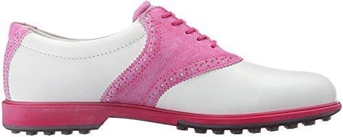 Ecco Ecco Damen WOMENS CLAS. GOLF HYBRID Golfschuhe, Mehrfarbig (WHITE/CANDY 57676), 36 EU
