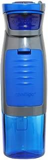Contigo 康迪克 袋鼠系列 运动水瓶,带储物隔层,24盎司(约682ml),蓝色