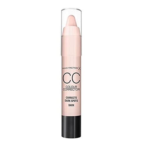 Max Factor CC Concealer Stick for Dark Spots, Light Skin, Pink, 3.4 g