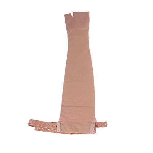 HEALLILY mastectomía compresión Brazo Protector Manga Protector de Brazo Protector para Edema hinchazón linfedema - Izquierda l