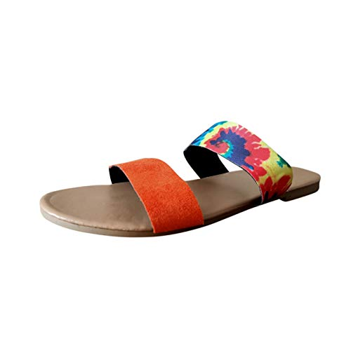 Fomino Neue Hausschuhe Damen Komfortabel Große Größe Flat Sandal Offene Schuhe Sommerschuhe Badeschlappen Weichen Sohle Slip-one Freizeit Schuhe Damenschuhe Strandschuhe Outdoorschuhe