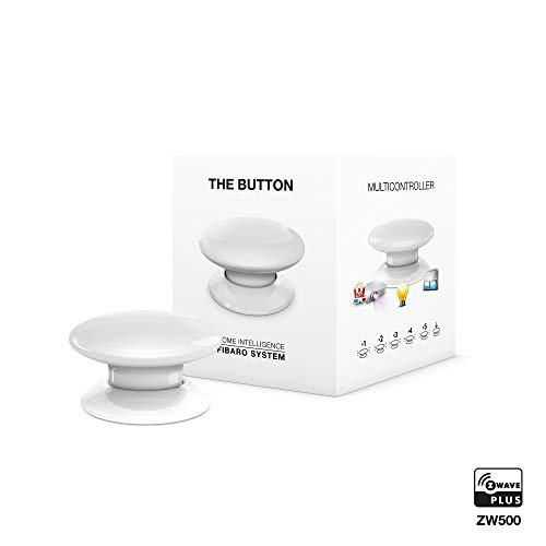 FIBARO FIBEFGPB-101-1 FGPB-101 1 EU The Button, 3,6 V, wit