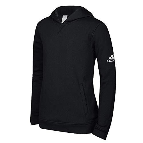 adidas Youth Fleece Hoodie Black L