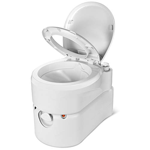 YITAHOME Portable Toilet Integrated 6.3 Gallon,Camping RV Toilet with...