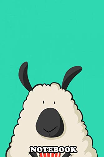 Notebook: A Sheep With Popcorn , Journal for Writing, College Ruled Size 6' x 9', 110 Pages