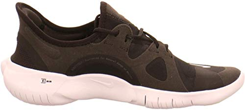 Nike WMNS Free Rn 5.0 Scarpe da ginnastica da donna, grigio, 36 EU, nero/bianco/antracite., 40.5