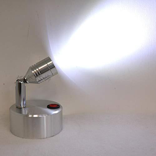 Trockenbatterie kleiner Strahler Wandleuchte LED kleines Licht Batterie Licht Wireless Lampe Tischlampe Vitrinenlampe SD4 @ Red