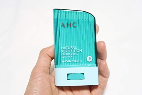 AHCナチュラルパーフェクションダブルシールドサンスティック22g,NaturalPerfectionDoubleShieldSunStickSPF50+PA++++